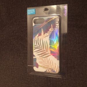 iPhone 6+/7+/8+ Silicon Leaf Pattern Case